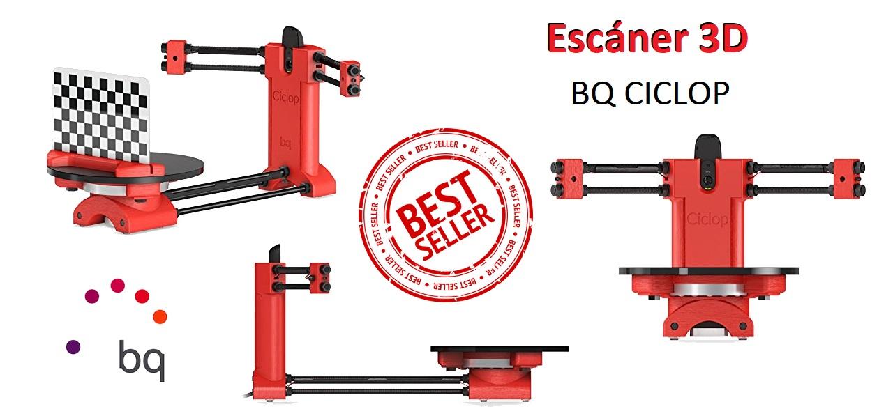 Escáner 3D BQ Ciclop